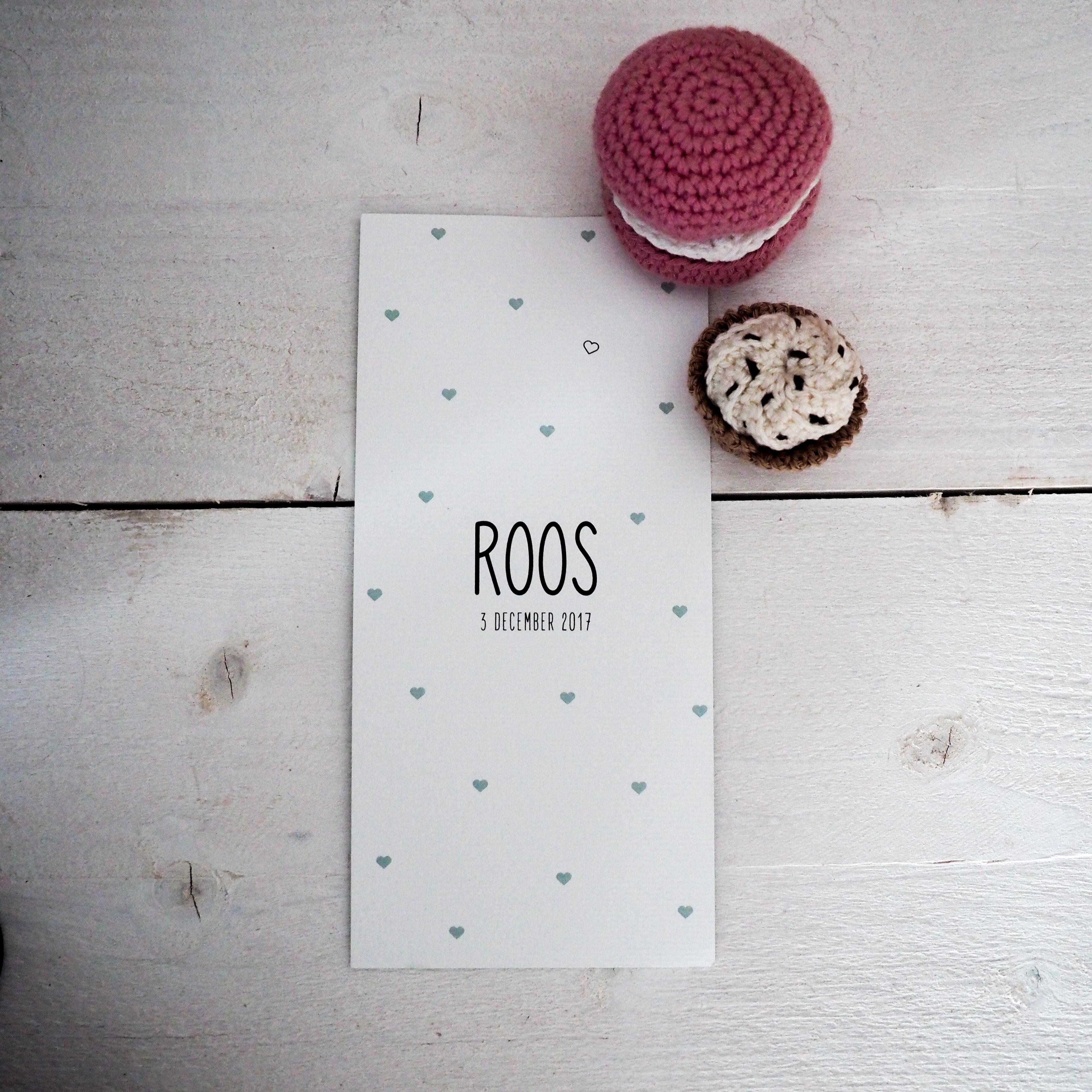 Hartjes voor Roos!